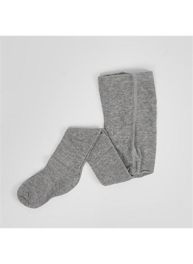 Panço Kız Çocuk Külotlu Çorap 2022GK11001 Gri